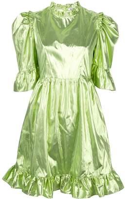 Batsheva flared bell sleeve dress