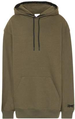Reebok x Victoria Beckham Oversized cotton hoodie