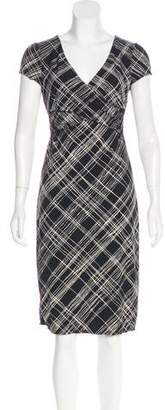 BCBGMAXAZRIA Printed Knee-Length Dress