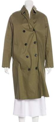MACKINTOSH Double-Breasted Knee-Length Coat