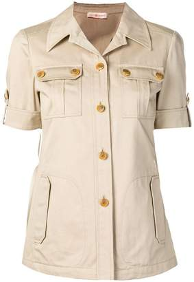Tory Burch shortsleeved Safari shirt