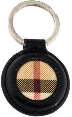 Burberry Leather Keychain