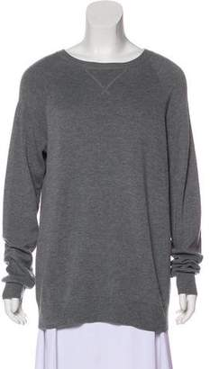 Alexander Wang Oversize Crew Neck Sweater
