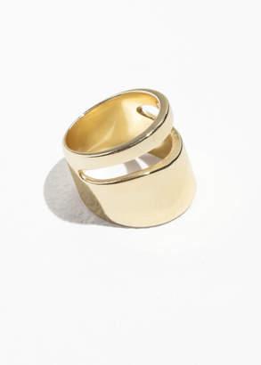 Cutout Chunky Ring