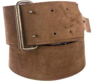Lanvin Leather Buckle Belt