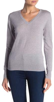 Kier & J Long Sleeve Merino Wool Pullover