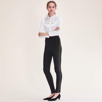Maje Leggings with several zips