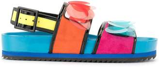 Kat Maconie Jean colour-block sandals