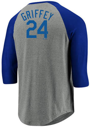 Majestic Men's Ken Griffey Jr. Seattle Mariners So Much Extra Player Raglan T-Shirt