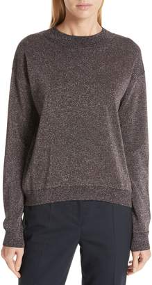 BOSS Funday Metallic Wool Blend Sweater