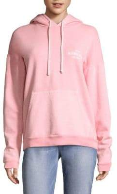 Peserico Oversized Faded Melrose Place Hooded Sweatshirt