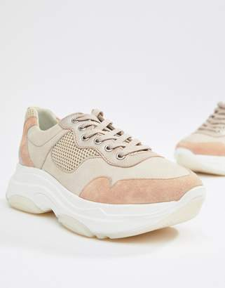 Dune Escape chunky sole trainers