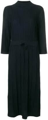 A.P.C. ribbed knit midi dress