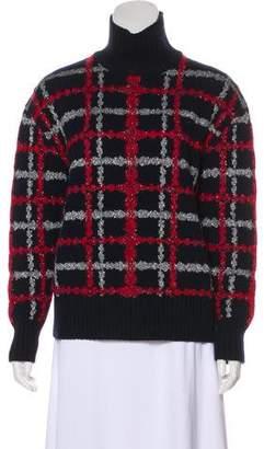 Chanel 2016 Metallic Turtleneck Sweater w/ Tags