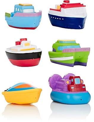 Elegant Baby Boat Party Bath Squirties Toy Set