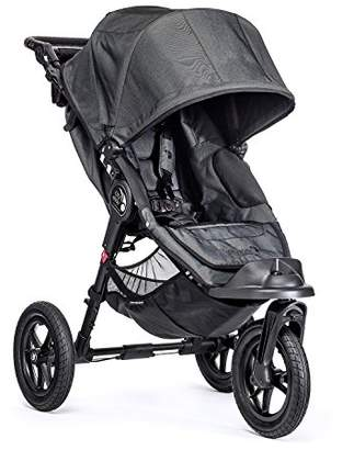 Baby Jogger City Elite Stroller - Single, Charcoal Denim