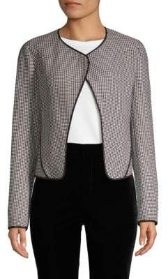 Derek Lam 10 Crosby Grid Cardigan Jacket