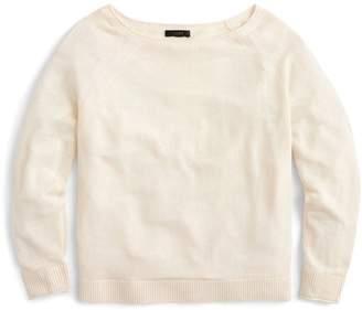 J.Crew J. Crew Kate Linen Blend Sweater