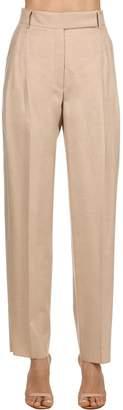 Salvatore Ferragamo Wool Flannel Pants