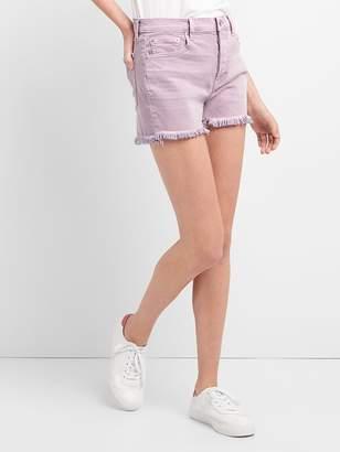 Gap High Rise Denim Shorts in Color