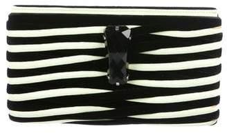 Giorgio Armani Woven Velvet Clutch
