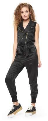 Juicy Couture Gossip Pop Jacquard Jumpsuit