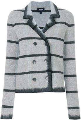 Armani Jeans striped jacket
