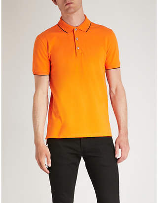 HUGO Slim-fit stretch-cotton polo shirt