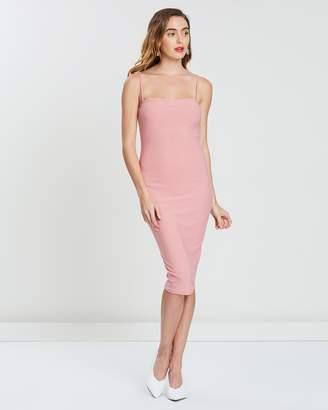 Missguided Strappy Cami Midi Dress