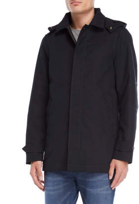Scotch & Soda Midnight Removable Hood Parka