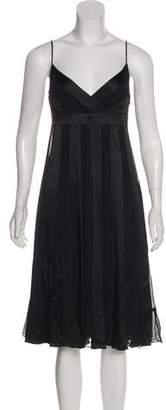 Diane von Furstenberg Roma Sleeveless A-Line Dress