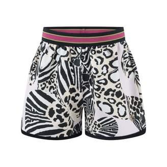 Roberto Cavalli Roberto CavalliGirls Pink Wildlife Butterfly Print Shorts