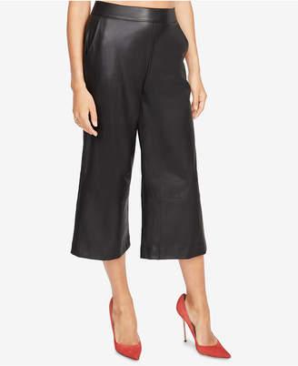 Rachel Roy Cropped Faux-Leather Pants