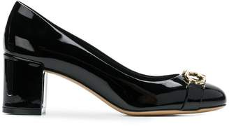 Salvatore Ferragamo double Gancio pumps