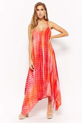 Forever 21 Tie-Dye Cami Maxi Dress
