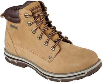 Skechers Amson Mens Lace-Up Ankle Boots