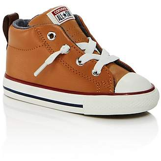 Converse Boys' Chuck Taylor All Star Leather Mid Top Sneakers - Walker, Toddler