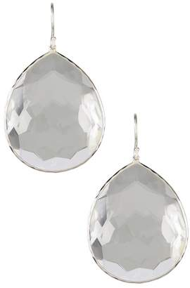Ippolita Sterling Silver Rock Candy Super Teardrop Quartz Earrings