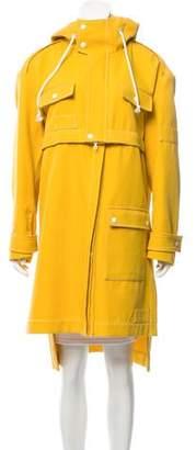 Rosie Assoulin Convertible Rain Coat