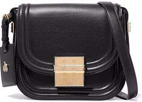Lanvin Embellished Leather Shoulder Bag