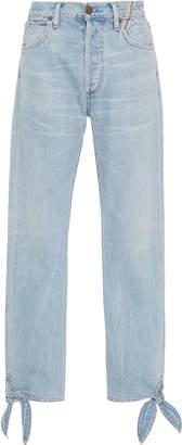 Atelier Jean Hunter High-Rise Straight-Leg Jeans