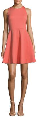 Kate Spade Ponte Bow Flared Dress
