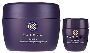 TATCHA Indigo Body Gommage & Travel-Size Enzyme Powder $68 thestylecure.com