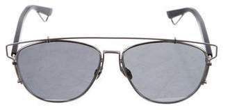 Christian Dior Technologic Aviator Sunglasses