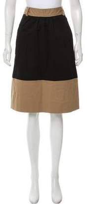 Milly A-Line Knee-Length Skirt