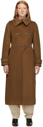 Mackage Tan Wool Elodie Coat
