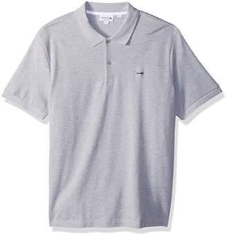 Lacoste Men's Short Sleeve 3 Ply Regular Fitular Pique Polo