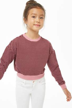 Forever 21 Girls Striped Top (Kids)