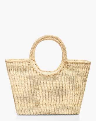 Sensi Studio Round Handle Canasta Bag