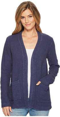 Mod-o-doc Weekender Rayon Linen Patch Pocket Cardigan Women's Sweater